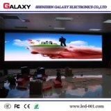 Pared fija del vídeo de la pantalla de visualización de LED de la pequeña echada de interior del pixel P1.875/P1.904