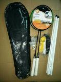 Ракетки Badminton и залп PVC комплект шарика