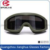 Da venda TPU dos bens claridade quente altamente de vidros de segurança militares do tiro dos óculos de proteção da visão noturna