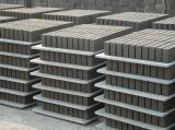 A fábrica de China fêz a pálete de PVC/Plastic para o bloco de cimento