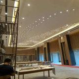 Lâmpada de cristal luxuosa moderna de Squar Pentand com hotel de Projece