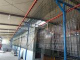 El polvo galvanizado cubrió la cerca del acoplamiento de la seguridad usada para el edificio de Residentail