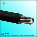 2017 câble quadruplex triple duplex normal normal d'ABC de la taille 11kv d'A.W.G. des BS /Brazil de conducteur en aluminium chaud de vente