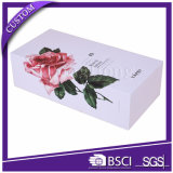 Квадратной напечатанный картиной горячий продавая бумажный упаковывать коробки подарка
