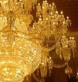 Lâmpada de cristal decorativa extravagante do pendente da casa de campo