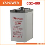 中国の供給2V400ahの長い生命ゲル電池-電気通信システム力