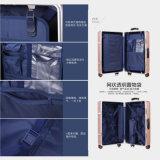 Maglluの荷物旅行一定袋ABS+PCのトロリースーツケースの銀製灰色
