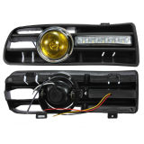 Grade clara da lâmpada do diodo emissor de luz da mais baixa névoa abundante dianteira amarela nova para o golfe Mk4 1998-2004 da VW