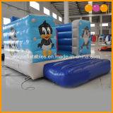 Salto gonfiabile del Bouncer di tema del fumetto piccolo fatto della tela incatramata del PVC di 0.55mm dalla fabbrica gonfiabile della Cina (AQ02302)