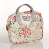(200 #) Imperméable PVC Floral Patterns Zipper Canvas Designer Sac à main