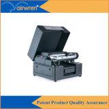 Máquina ULTRAVIOLETA de la impresora A4 de Digitaces para la impresión en el metal de hoja con la tinta blanca
