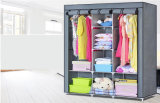 Armário não tecido barato moderno do Armoire do Wardrobe da mobília Home