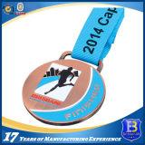 Médaille en Alliage de Zinc de Sports avec L'émail Mol