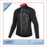 Los hombres impermeabilizan la chaqueta de Cyling, chaqueta que monta, chaqueta de la bicicleta