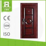 Puertas de la seguridad de la entrada del apartamento del precio bajo hechas en China