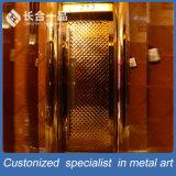 Portello esterno personalizzato di qualità superiore dell'acciaio inossidabile di fabbricazione per KTV