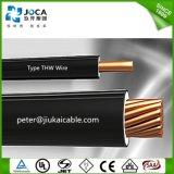 Alambre de cobre flexible trenzado Thw de la alta calidad de China