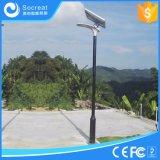 ventes directes d'usine de 15W 20W, 5 ans de garantie, un type neuf de réverbère solaire Integrated