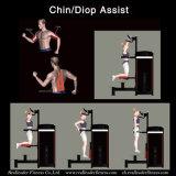 Chin/DIP 지원 (M7-1010)를 위한 체조 장비 적당 장비