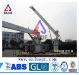 guindaste marinho hidráulico da plataforma do crescimento duro de 5t 8t 10t