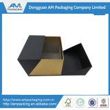 黒いガラスボックスを包む贅沢な包装紙ボックスワインの魅力