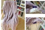 El paño grueso y suave largo suave Blanket/2ply del picovoltio del pelo calienta densamente las mantas borrosas