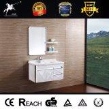 Qualitäts-Edelstahl-Badezimmer-Eitelkeit mit Regal 078
