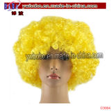 Rifornimento del partito della parrucca dei capelli di Afro del partito delle decorazioni dei Giochi Olimpici (C3017)