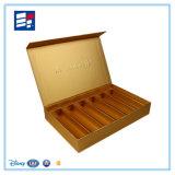 Caixa de presente personalizada vinho do papel de embalagem do relógio da pena da composição/eletrônica