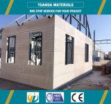 Casa de la casa prefabricada de la estructura de acero del panel de AAC