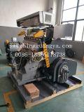 Máquina que corta con tintas de la hoja