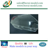 Pièces de plastique à usinage CNC transparent