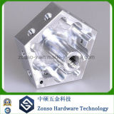 Peças feitas à máquina CNC de alumínio da liga da precisão