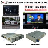 Interface vidéo de voiture Système de navigation GPS pour 2009-2014 Audi Q5 / A4l / A5 / S5
