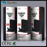Carrinho vertical com o carregador duplo do ventilador de refrigeração para controlador de console PS4 de Playstation 4 o PRO