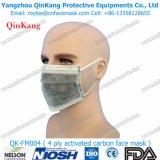 Respiratore polverizzato del carbonio attivo a gettare con la valvola Qk-FM017