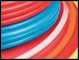 1/2 verstärken PU geflochtenes Gefäß mit Polyester-Textilgarn-Gefäß