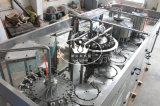 Monoblock 4 dans 1 machine de remplissage de jus de graine de basilic de bouteille en verre avec de la pulpe