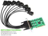 PCI-Expresar 8 a la viruta serial de la tarjeta 16c1058 del adaptador de COM de los accesos dB9 RS232 RS-232
