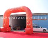 Входная дверь свода Afvertising изготовления Гуанчжоу напольная раздувная