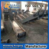 Transportador de placa de encadenamiento de la manipulación de materiales de la escala media