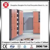 Wasserdichter Vertrags-Laminat-Vorstand für Toiletten-Zelle-Partition