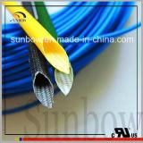 2.5kv de Glasvezel Sleeving van het Silicone van de Weerstand van de vlam voor Motoren