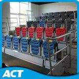 Sistema retrátil telescópico automático do assento para a ginástica