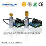 Pièce électrique importée de machine de découpage de laser de la tête Js2807 de Galvo en métal de machine