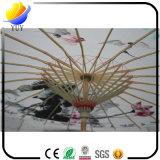 オイルペーパー傘のカスタム防水古典的な傘のダンスの傘の中国様式のクラフトの傘のレストランのホテルのショッピングモールの装飾的な支柱