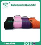 ヨガの練習の綿の伸張ストラップのための習慣によって編まれる綿ストラップ