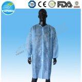 博士の卸売のためのShort Sleeve Lab Coats綿のコート