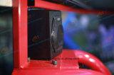 Coche de competición eléctrico de Vr de la plataforma del cilindro del Dof del lujo 6 con el surtidor de 3 pantallas