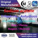 Trihydrate CH3coona d'acétate de sodium. 3H2O